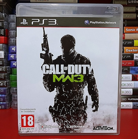 Call Of Duty Mw3 Call Of Duty Modern Warfare 3 - Ps3
