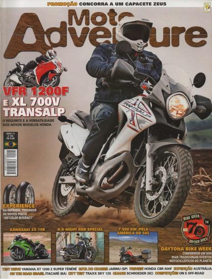 Moto Adventure N°125 Honda Xl 700v Transalp Vfr 1200f Zx-10r