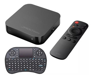 Droid Box Plus X-view Convertidor Smart + Teclado Wirless