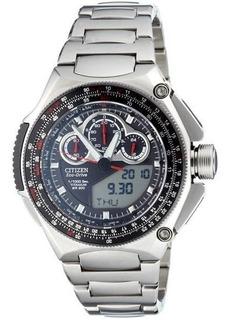 Reloj Hombre Citizen Jw0071-58e Super Crono Agente Oficial J