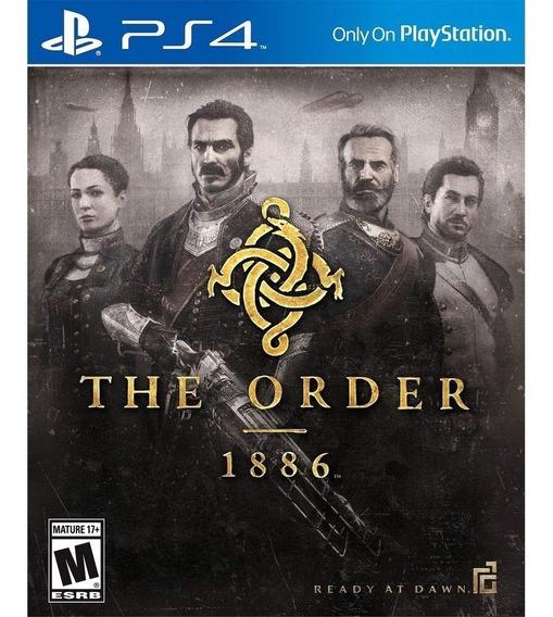 The Order: 1886 - Ps4 Mídia Física Lacrada Original