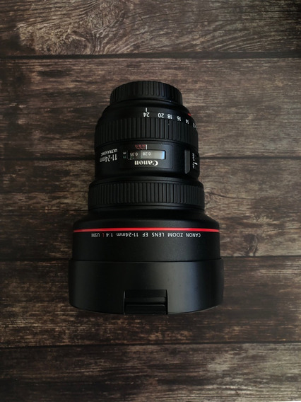 Lente Canon Ef 11-24mm F/4l Usm F4