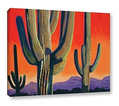 Imagen 1 de 3 de El Artwall Rick Kersten  Saguaro Dawn Galeria 08 X 10