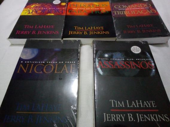 5 Livros Da Coleção De Tim Lahaye E Jerry B. Jenkins
