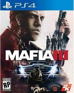 Mafia Iii (3) - Ps4 - Fisico -