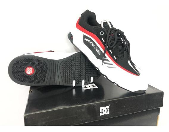 Tênis Dc Shoes Legacy 98 Slim Imp Black/white/red Original