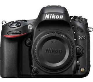 Camara Nikon D610 Body | Entrega Inmediata | Garantía