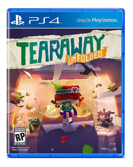Juego Sony Tearaway Unfolded Ps4