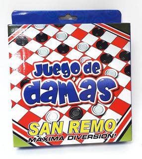 Juego De Damas San Remo Oferta!!!