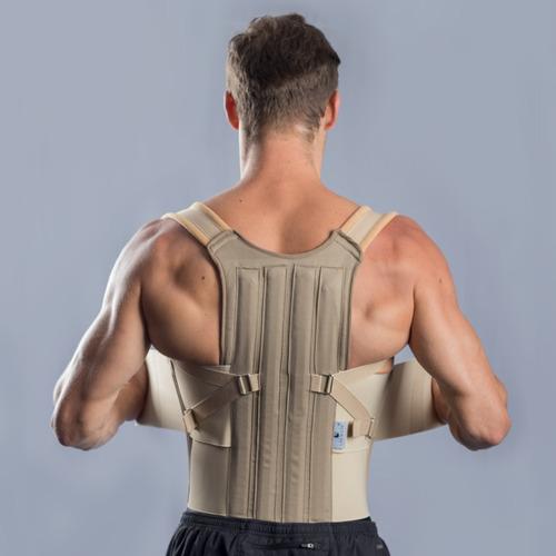 Corrector Postura Fajadorso Lumbar Sacro Ortopedica Unisex