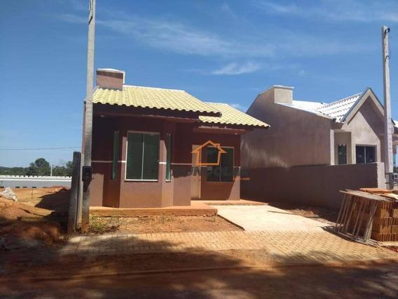 Casa Com 3 Dormitórios À Venda, 50 M² Por R$ 125.000,00 - Centro - Contenda/pr - Ca1576