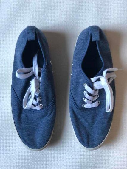 Zapatillas Divided Por H&m   Azul Divinas! Onderisimas