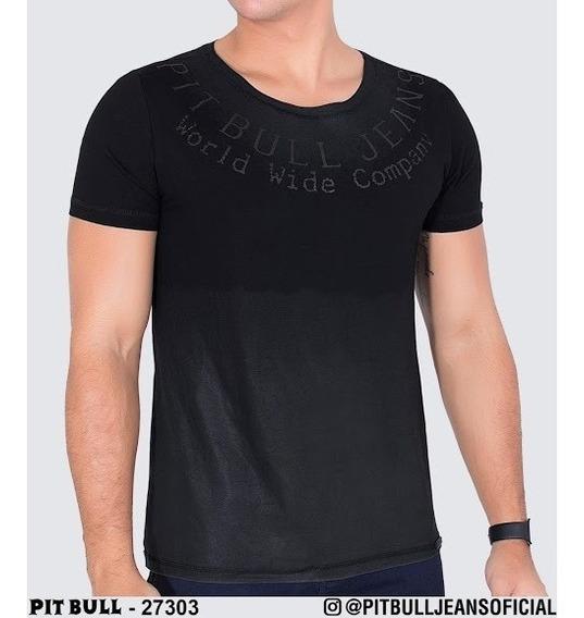 Promoção Camiseta Masculina Pit Bull 27303 ( P. Entrega)