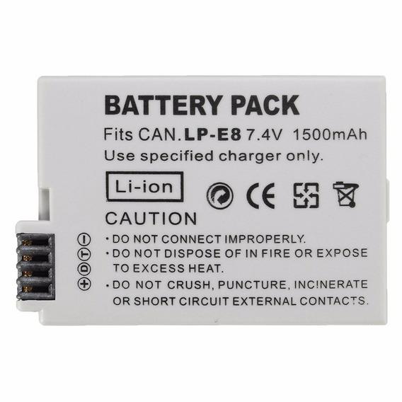 Bateria Lp-e8 Lpe8 Para Canon Eos T2i T3i T4i T5i Aproveite