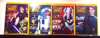 Star Wars The Clone Wars Temporada Completa (dvd Nuevo)