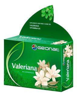 Valeriana Geonat Suplemento Dietario X 40 Comprimidos