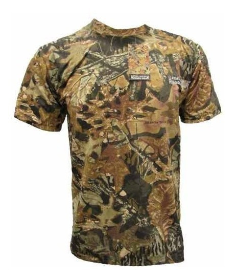 Remera Camuflada Stahl Hunter Algodon Denim Oferta Bowie