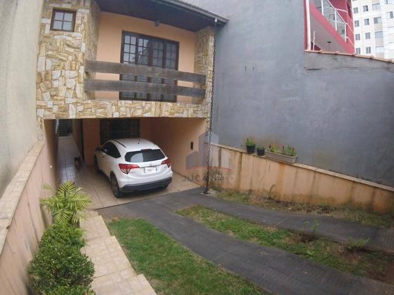 Sobrado Com 3 Dormitórios (1 Suíte) À Venda, 150 M² Por R$ 585.000 - Parque São Vicente - Mauá/sp - So0119