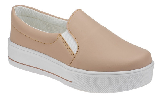 Tenis Feminino Sapatenis Slip On Iate Confort | S01.it1