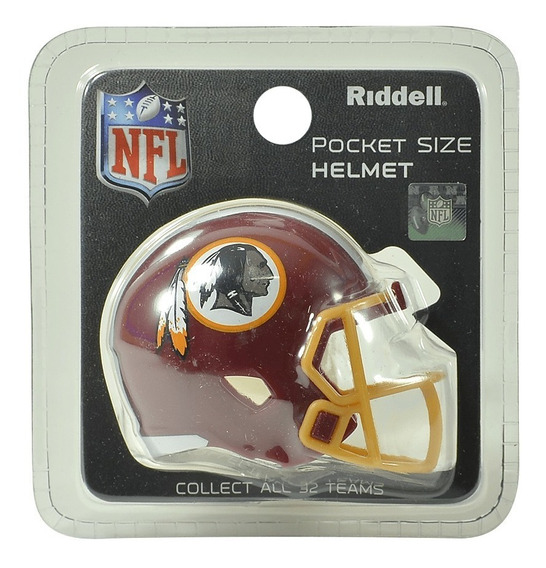 Mini Capacete Nfl Washington Redskins Riddell