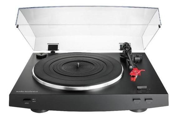 Toca-discos Audio-technica At-lp3bk Preto (belt-drive)