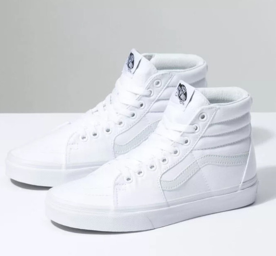 Tênis Vans Sk8-hi - Branco - Tamanho 48