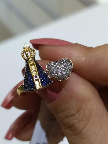 Anel Semi-joia Nossa Senhora Aparecida