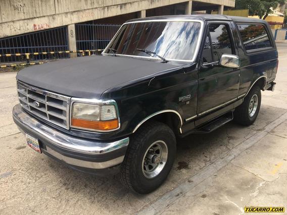 Ford Bronco Xlt Efi