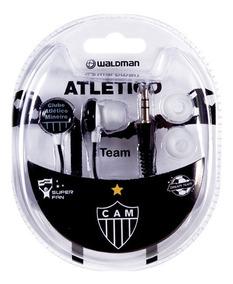 Fone De Ouvido Original Atletico Mineiro Super Fan Waldman