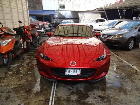 Mazda Mx-5 2018 Rojo