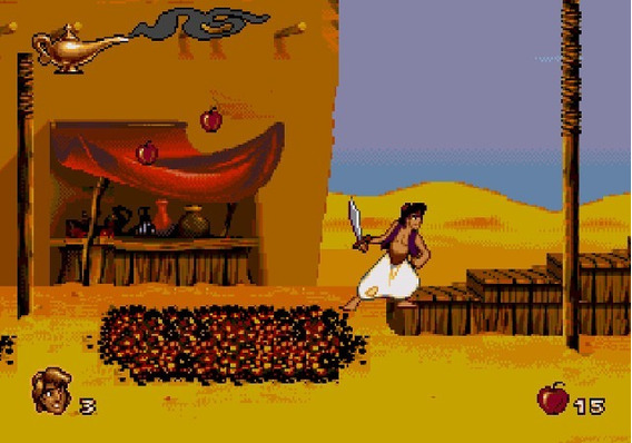 Jogo Aladdin Para Pc Envio Imediato