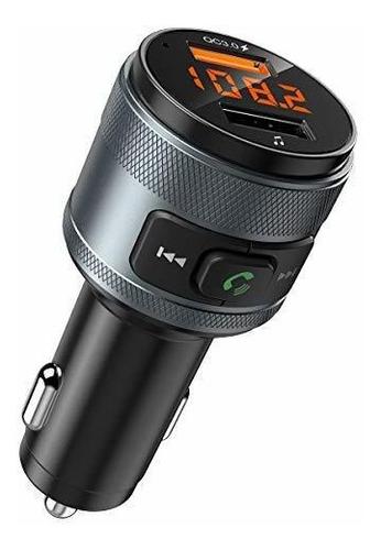 Imagen 1 de 8 de (version Mejorada) Transmisor Bluetooth Fm Para Automovil, T
