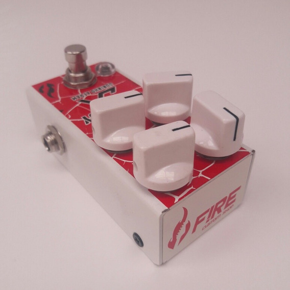 Pedal Guitarra Mini Little Boy Jininho Affran Fire Custom
