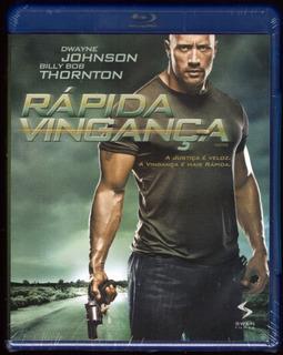 Blu - Ray Rápida Vingança ( Dwayne Johnson ) - Novo Lacrado