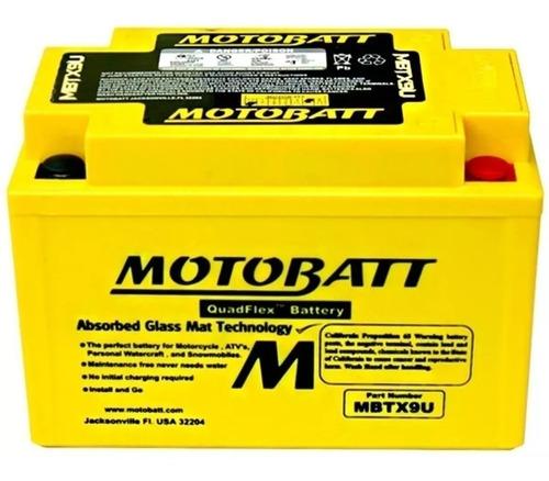 Bateria Motobatt Mbtx9u/ytz14s Honda Shadow 750/ Midnight