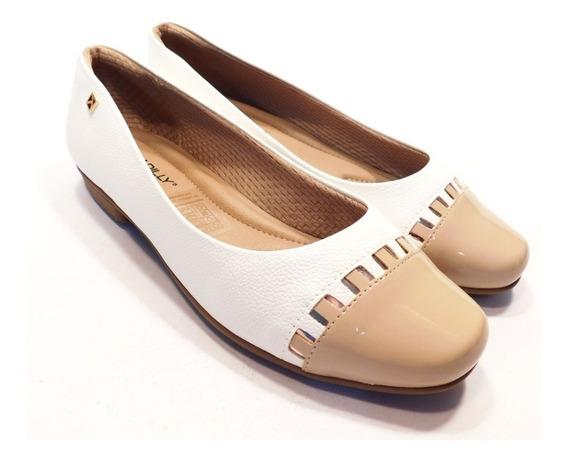Sapatilha Feminina Piccadilly- Ref 251030 - Branco