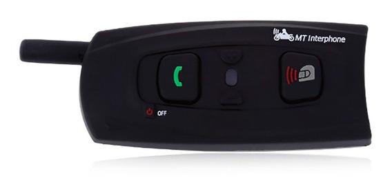 Intercomunicador Bluetooth Casco Moto V2-1200 Ejeas - Um