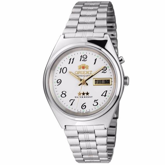 Relógio Orient Masculino Automático 469wb1a B2sx Branco