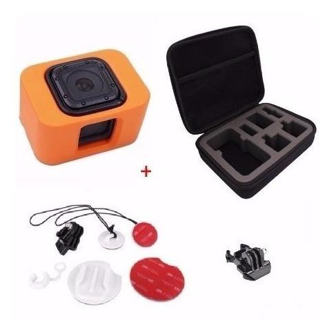 Kit Go Pro Capa Case Kit Surf Clip Montagem Hero 4 5 Session