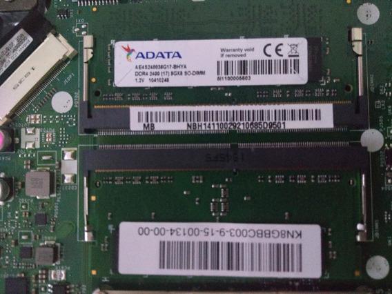 Memoria Adata 8gb Ddr4 2400mhz Ae4s240038g17