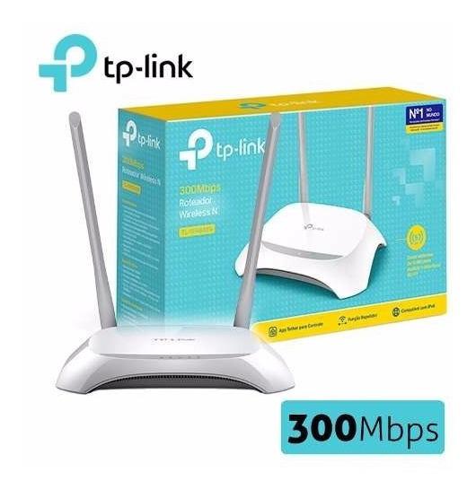 Router Inalámbrico N 300mbps Modelo Tl-wr840n Tp-link