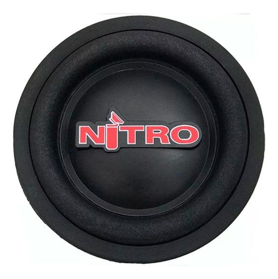 Sub Woofer 8 Polegadas Nitro 300w Rms 4 Ohms Bobina Simples