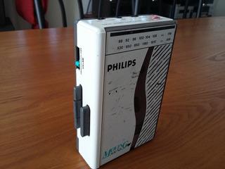 Walkman Philips Vintage De Los 80