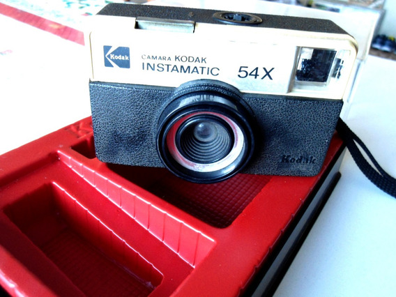 Câmera Fotográfica Kodak Instamatic 54x No Estojo Original