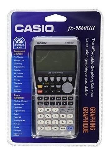 Calculadora Gráfica Casio Fx-9860gii, Negra