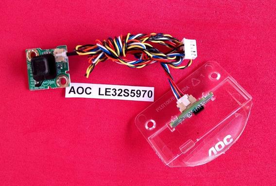 Teclado E Sensor Tv Aoc Le32s5970