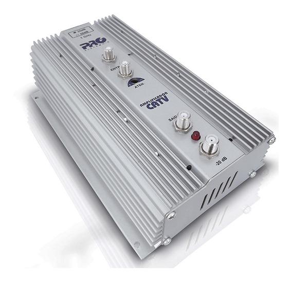 Amplificador Tv Coletiva Uhf Vhf 35db Pqap 6350 Proeletronic
