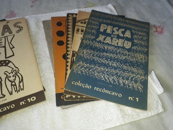 Revista 1 A 10 Coleção Recôncavo, Desenhos De Carybé, 1955