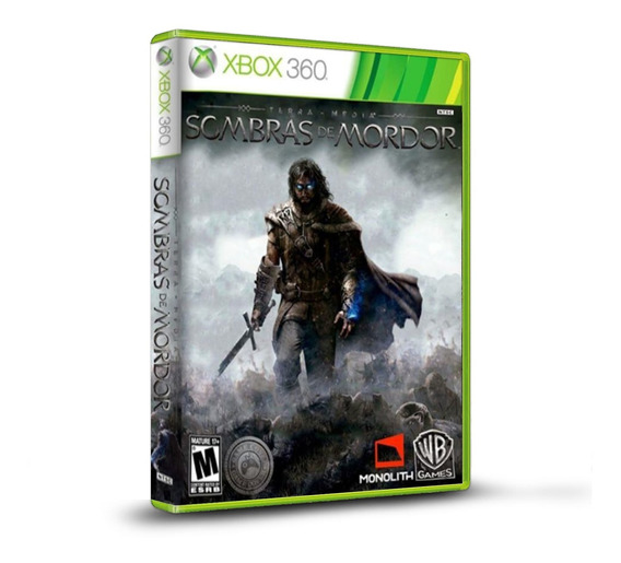 Middle Earth Shadow Of Mordor - Original Para Xbox 360 Novo