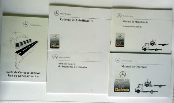 Manual Proprietário Mercedes Benz Veiculos Leves - 5 Itens